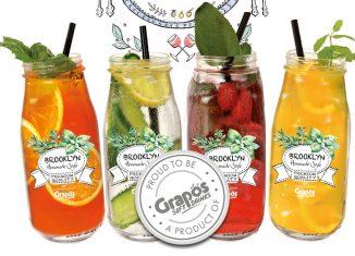Vegane Bio-Getränke verkosten Brooklyn Grapos