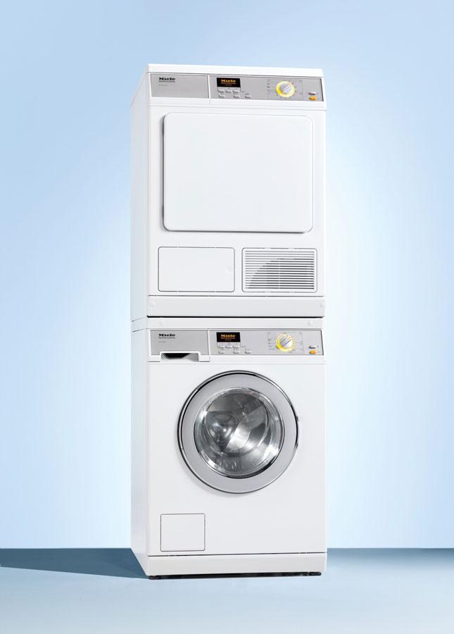 Das Million Edition Set kann auch als Wasch-Trockensäule aufgestellt werden und spart dadurch wertvollen Platz.