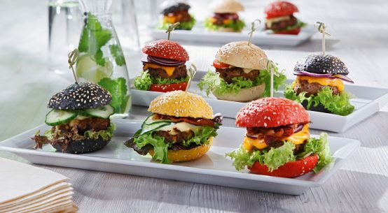 Vegane Mini-Muffins für die Gastronomie