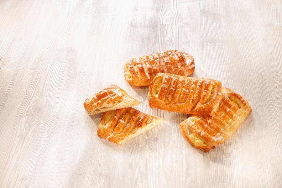 Knackig-frische Äpfel sind die Basis der köstlichen Füllung der Apfeltasche Premium von EDNA.