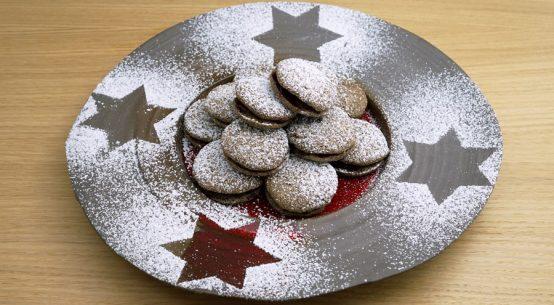 Glutenfreies Festtagsmenü Suppe Fisch Kekse