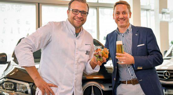 Pop-up-Restaurant Michael Kolm in Zwettl