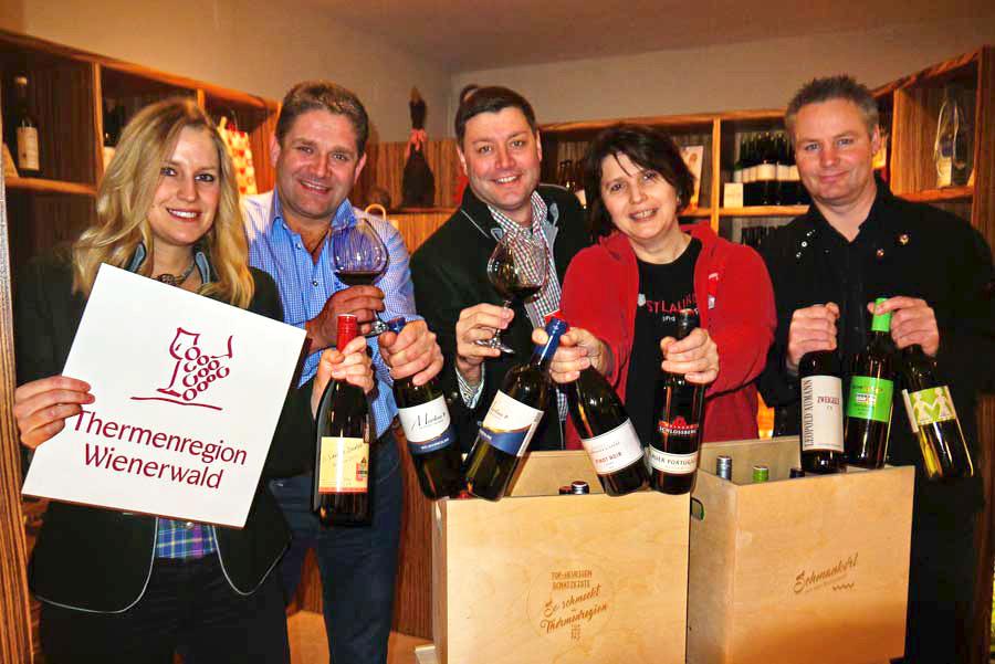 Spitzenweine aus Niederösterreich Thermenregion
