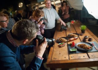 Foto-Workshop für Food-Blogger mit Cliff Kapatais
