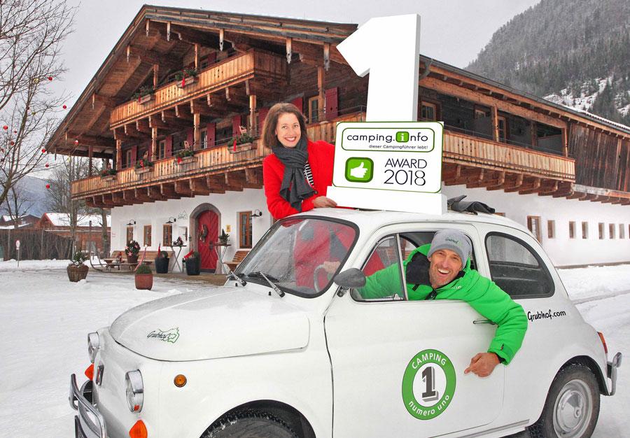 Beliebtester Campingplatz Europas Grubhof Salzburg