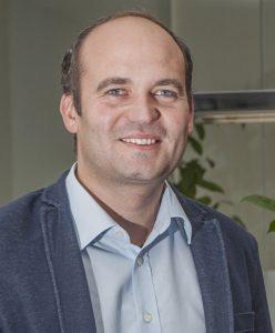 """Peter Schwärzler, Co-Erfinder des neuen Portionierers """"Hot Shot"""""""