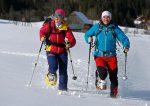 Erfolgreiche Bilanz für erstes Schneeschuh-Festival