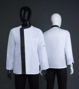 Individuelle Berufsbekleidung Gastronomie Chef Collection liefert auf Kundenwunsch maßgeschneiderte Berufsbekleidung auch mit Logo.