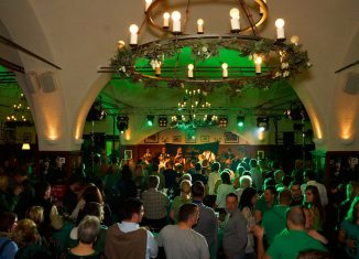Irish Party am St Patricks Day Salzburg Stiegl Brauwelt