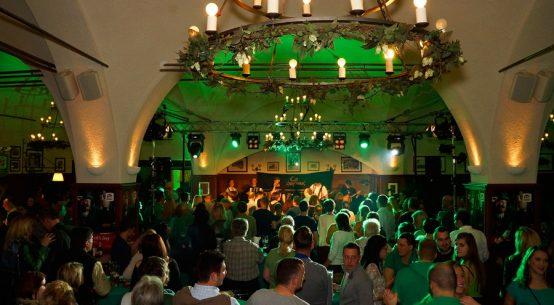 Irish Party am St Patricks Day Salzburg Stiegl Brauwelt