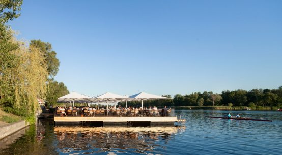 Genuss an der Alten Donau Strandcafe Wien
