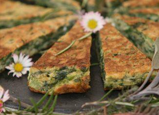 Rezept Wildkräuter Omelette Umweltberatung