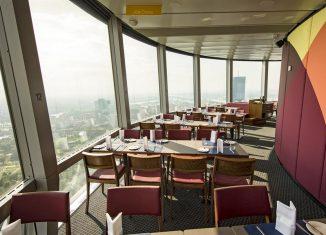 Kulinarische Genüsse in luftiger Höhe Donauturm