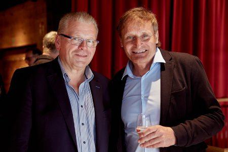 Reinhold Schärf (r.), Geschäftsführer der gleichnamigen Unternehmensgruppe, mit Kooperationspartner Uwe Suberg