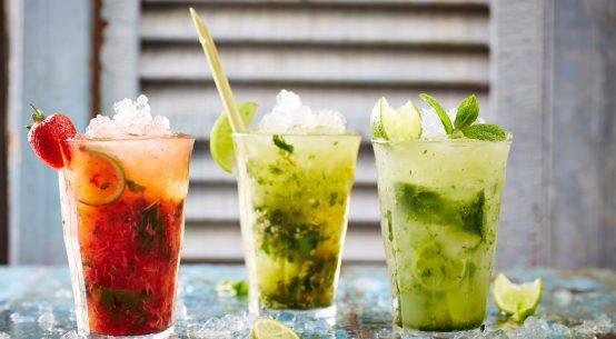 Drinks und Snacks Flughafen Wien Jamie Olivers Bar