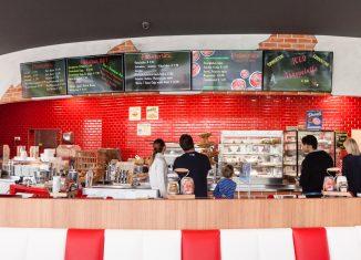 Digitale Kreidetafel für die Gastronomie Wesual