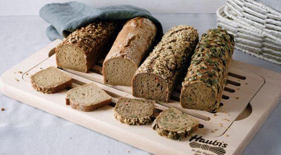 Vier-Kant-Brote für die Gastronomie Haubis