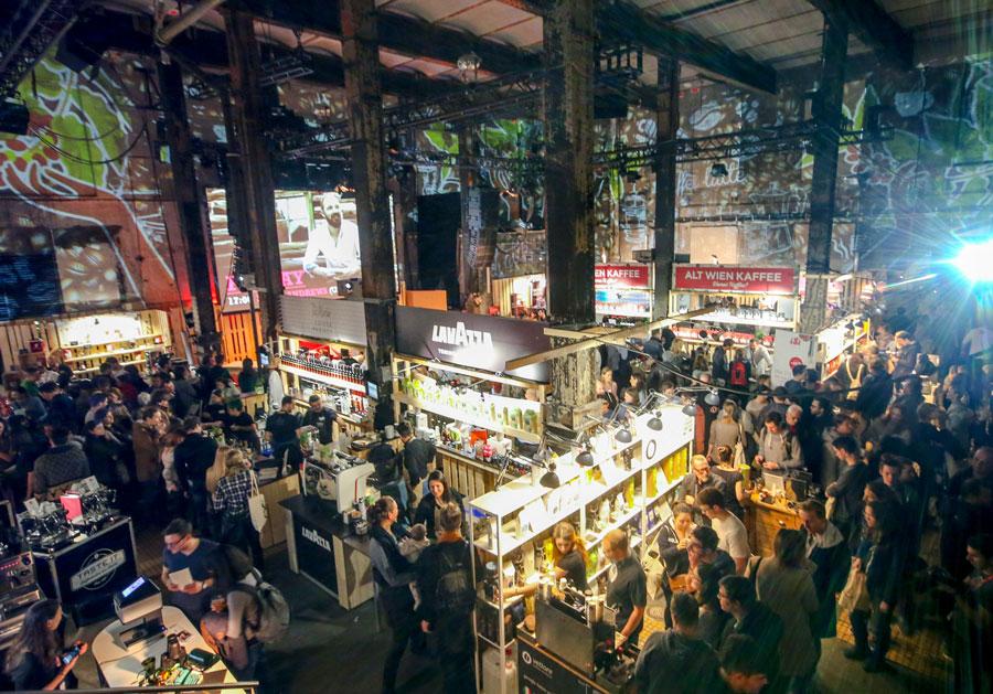 Es geht um die Bohne: Vienna Coffee Festival 2019