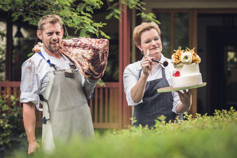 kreativund altbewährt : Bodenständige Tradition trifft beim Marktplatz Mittelkärnten auf innovative und jugendlich inspirierte Küche, wie hier im Gasthaus Liegl