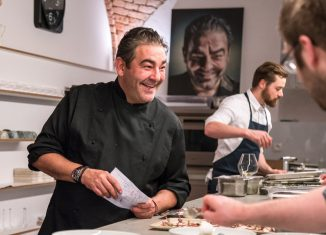 Amador kochte mit Freunden Spitzenköche unter sich