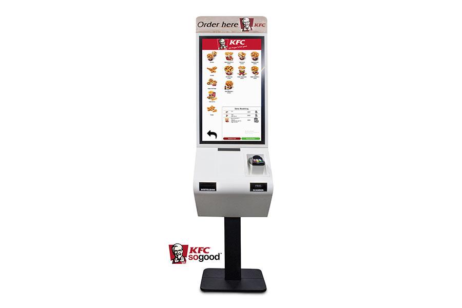 TiPOS Premium-Anbieter : KFC – Kentucky Fried Chicken – setzt auf digitale Effizienz und hat das bestehende TiPOS Kassensystem mit SB-Terminals in Verbindung mit dem Ticket Monitor und Küchenmanager erweitert. Zusätzlich können die Menüboards von TiPOS mit der zentralen Bilderverwaltung einfach und effektiv bespielt werden.