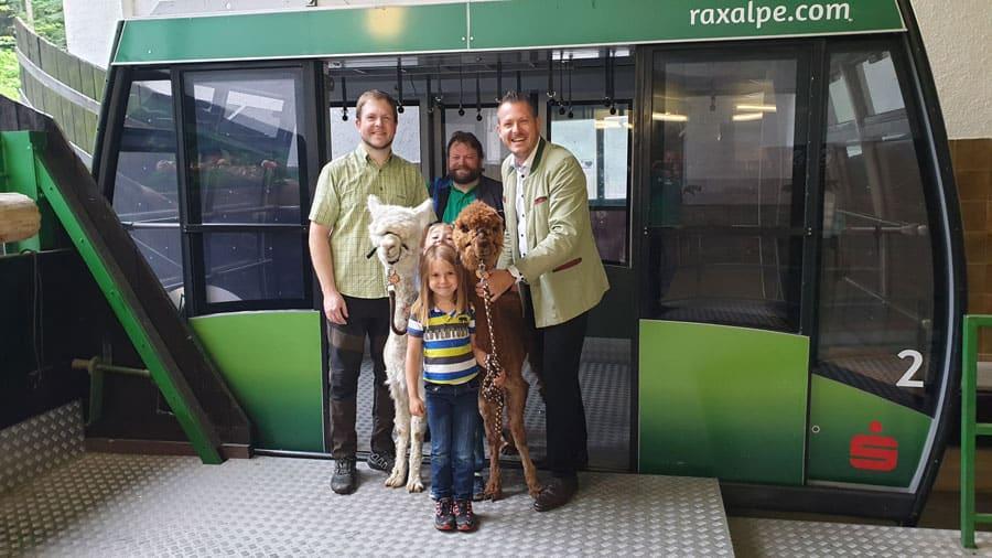 Raxalpe: Tierisches Vergnügen beim Kindertag am 7. Juli