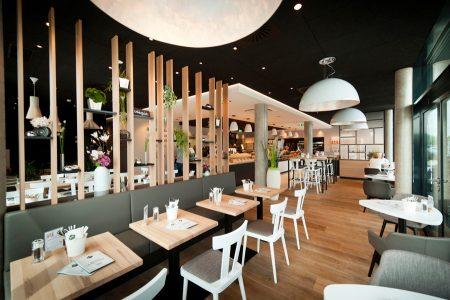 Als gemütlicher Treffpunkt für Genießer präsentiert sich die Haubis-Backstube mit Café in Traun.