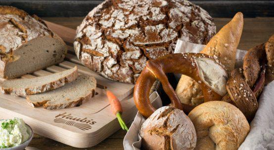 Energiespender Brot zum Frühstück Haubis
