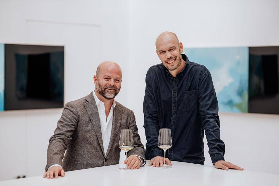"""Mit dem Namen """"trinkreif"""" eröffneten die beiden IT-Spezialisten Clemens Riedl und Markus Inzinger 2015 einen Premium-Weinhandel."""