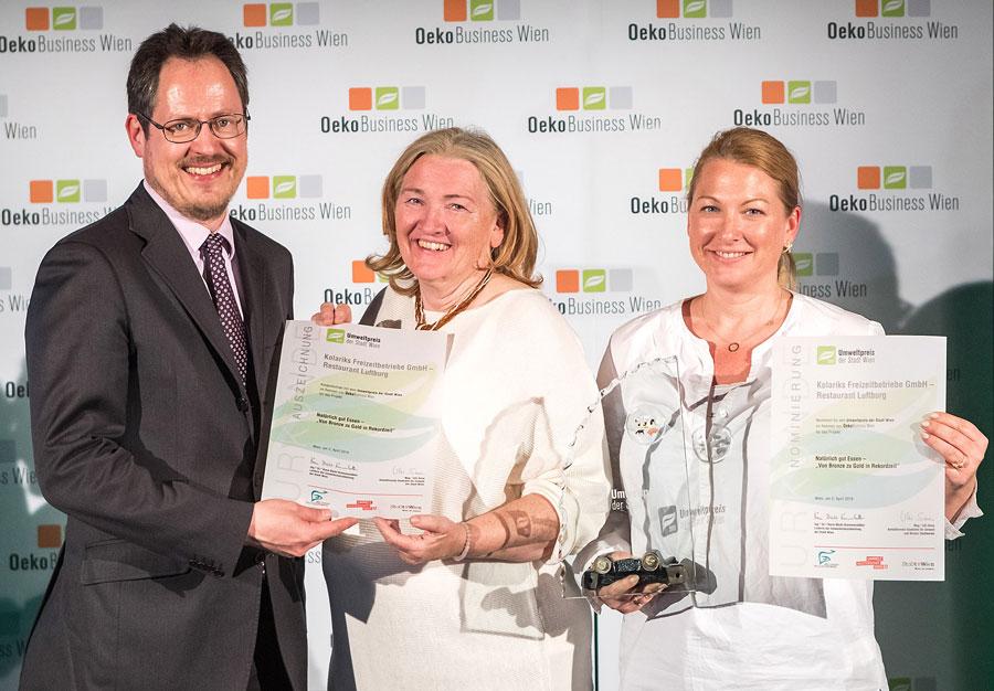 Nachhaltigkeit als Erfolgsrezept: Auszeichnung für die Luftburg