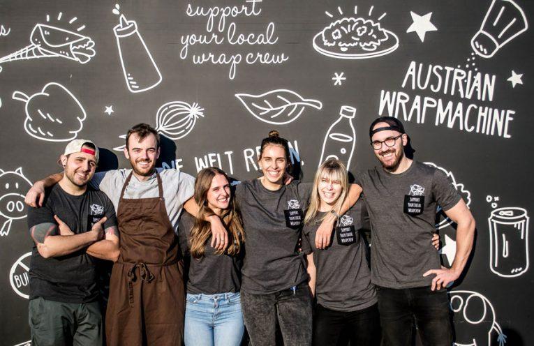 Crowdfunding-Kampagne für Lokal Wrapstars