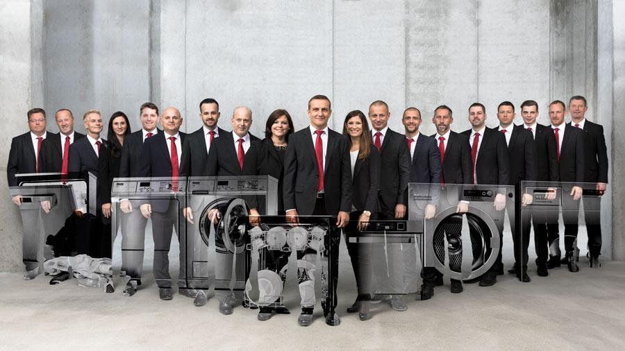 Die Ansprechpartner von Miele Professional stehen österreichweit mit Rat und Tat zur Seite.