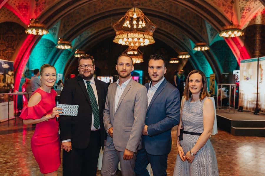 Wiener Rathauskeller: Online-Locationfinder lud zum Netzwerkabend