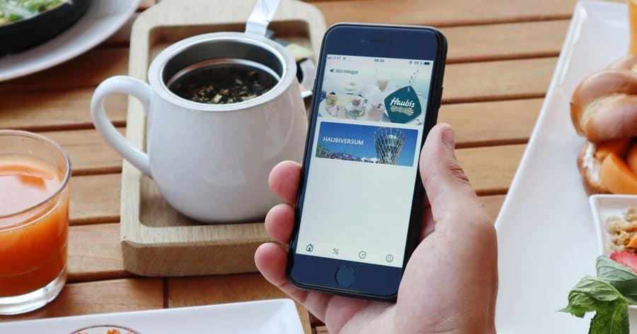 Die Haubis-App: Produkte vorbestellen – ohne Wartezeit!