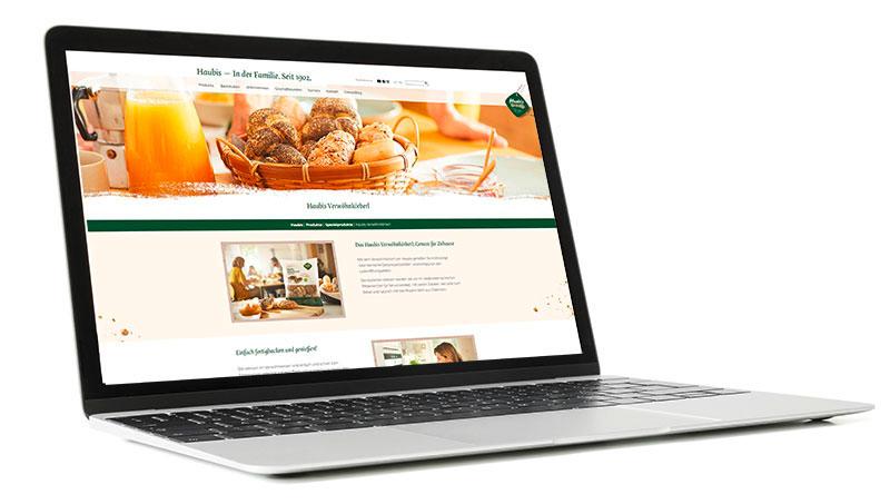 Neuheiten, wie das Verwöhnkörberl, finden auf der neuen Webseite die passende Bühne.