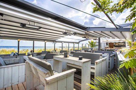 Außengastronomie Mit den richtigen Sonnen- und Wetterschutz-Lösungen kann die Outdoor-Saison verlängert und der Umsatz der Gastronomen gesteigert werden