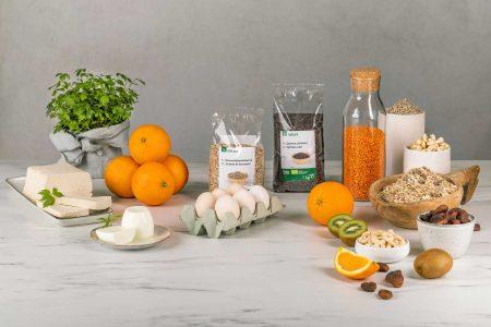 Leistbare Bioqualität in Großverpackungen