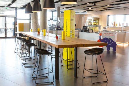 Gastro Öffnung Auch in den Bürokantinen – hier das Mitarbeiterrestaurant der ÖAMTC-Zentrale in Wien – könnte bald wieder deutlich mehr Leben einkehren.