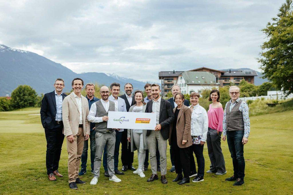 Die Eurogast Familie mit neuem Partner Gastrofresh.