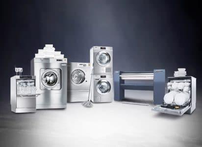 Bis zu 1.500 Euro System Bonus* auf eine Vielzahl an Waschmaschinen, Trocknern, Mangeln sowie Frisch- und Tankwasserspülsysteme.